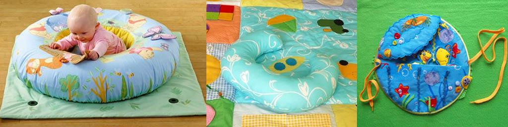 Детские развивающие коврики со специальными возможностями.