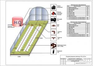 Система капельного полива теплицы 3х6 м