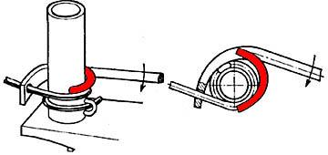 Приспособление для навивки спиралей вручную