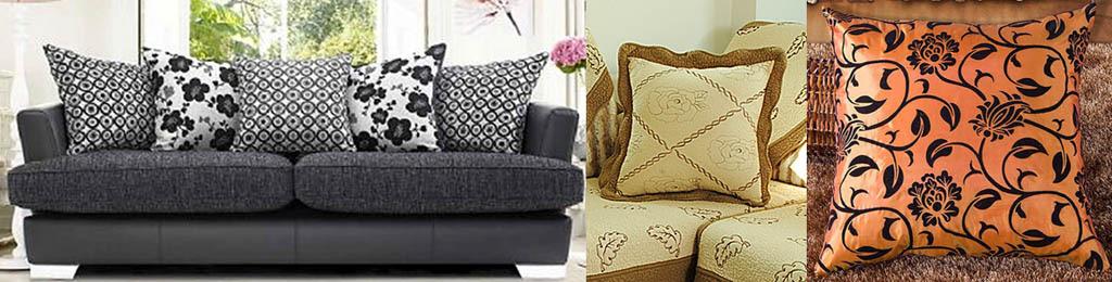 Роль расцветки ткани в декоре подушек