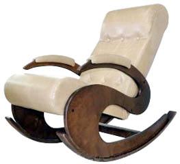 Кресло-качалка на рессорах