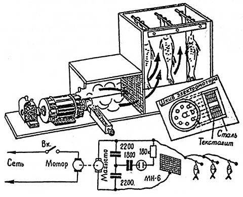 Самодельная мини-коптильня с электроочисткой дыма