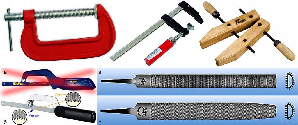 Простые столярные инструменты