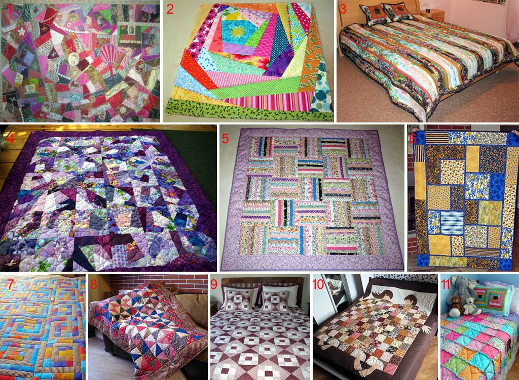 Фото образцов лоскутных одеял