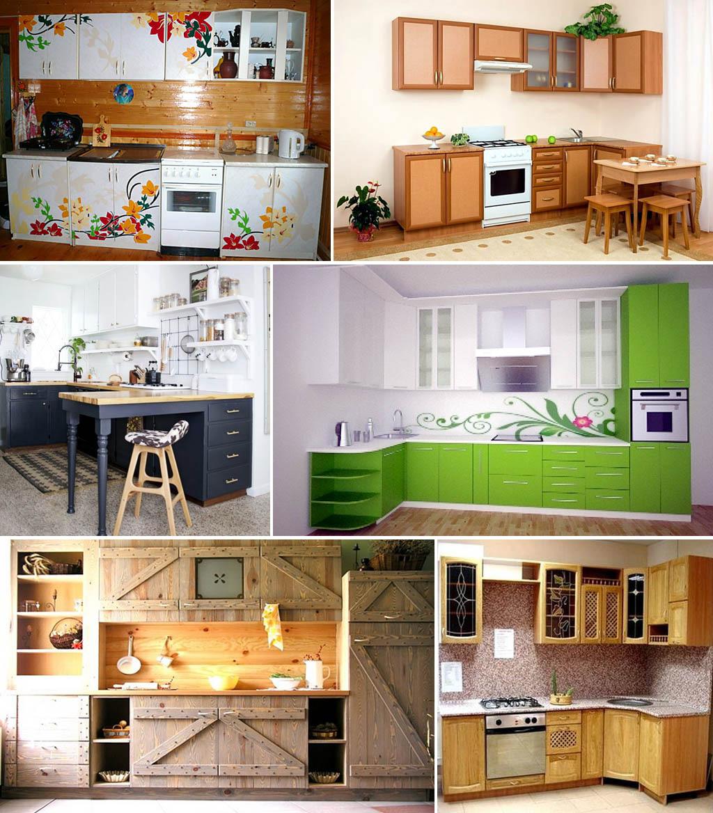 Самодельные кухонные гарнитуры