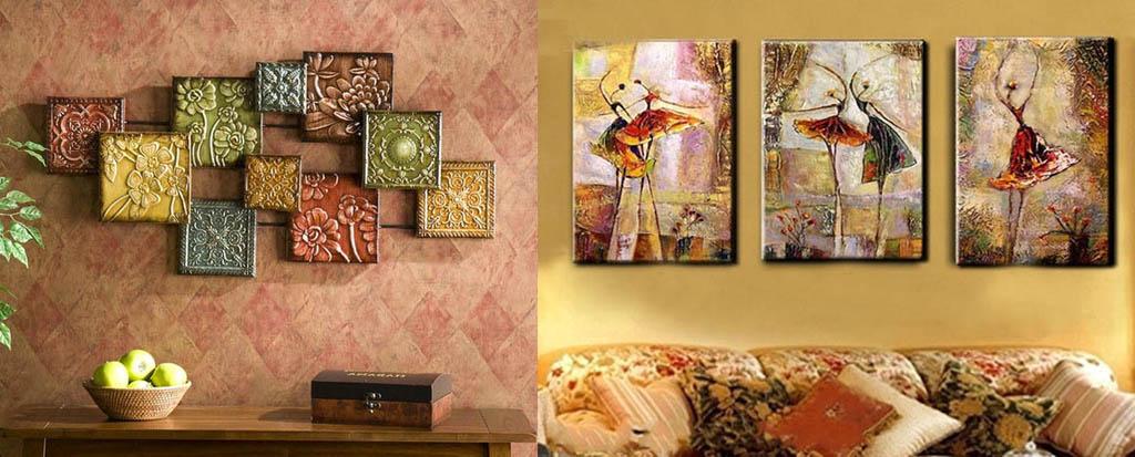 Декор стен изразцами и расписной майоликой