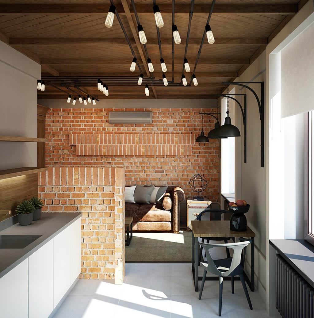 Светильники для интерьера в стиле лофт