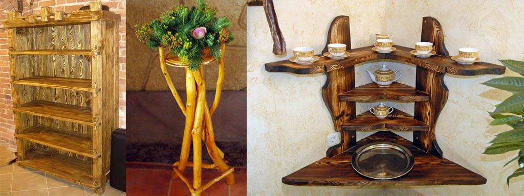 Мебель в рустикальном стиле