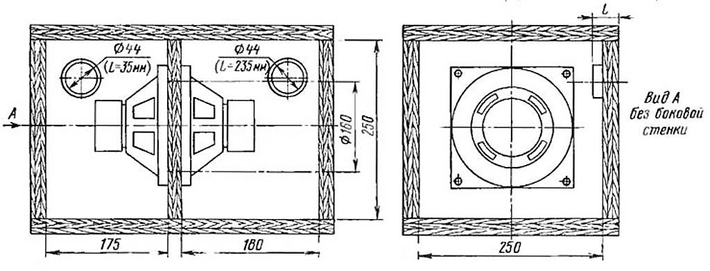 Конструкция простого сабвуфера
