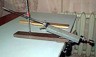 Самодельный вариант точилки Apex - точилка для ножей Скоморох