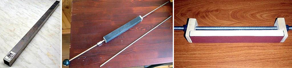 Самодельные оселки к точилкам для ножей