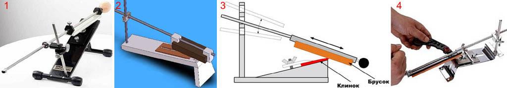 Бытовой станок для заточки ножей типа Apex