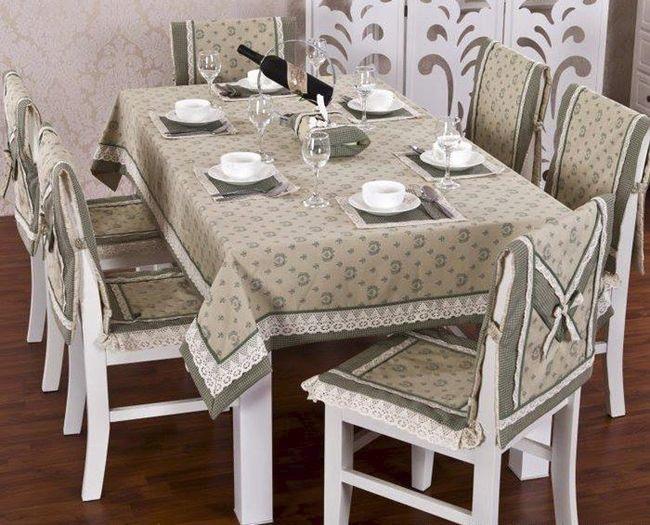 Накидки на кухонные стулья