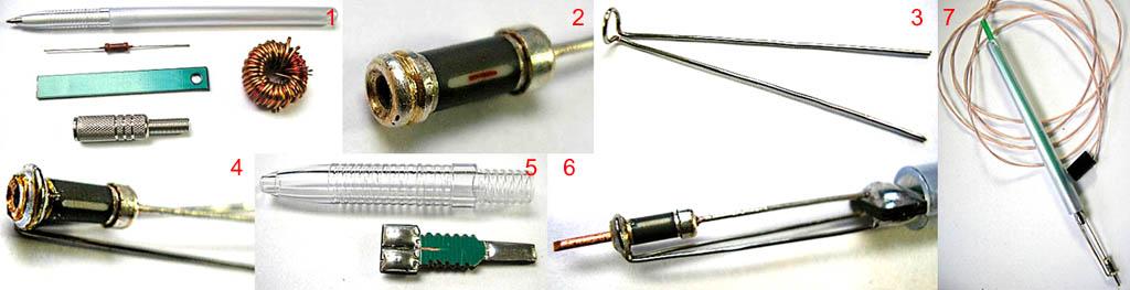 Как сделать мини-паяльник для микросхем из резистора МЛТ-0,5