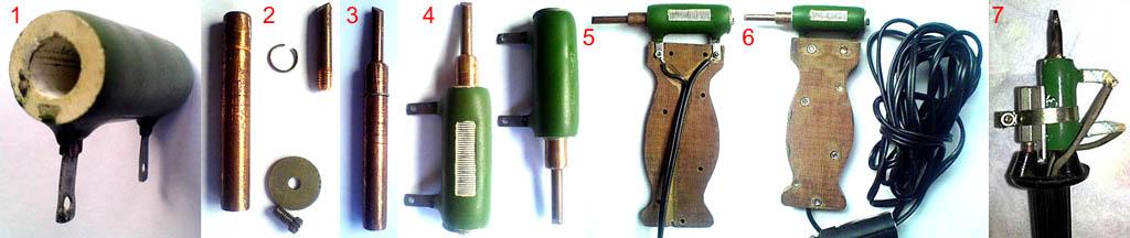 Изготовление паяльника из резистора