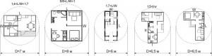 Как выбрать проект небольшого дачного домика, чтобы его можно было строить на незаглубленном фундаменте на грунтах до среднепучинистых включительно