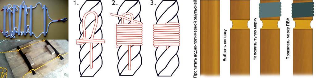 Как правильно сделать веревочную лестницу для детского спортивного уголка
