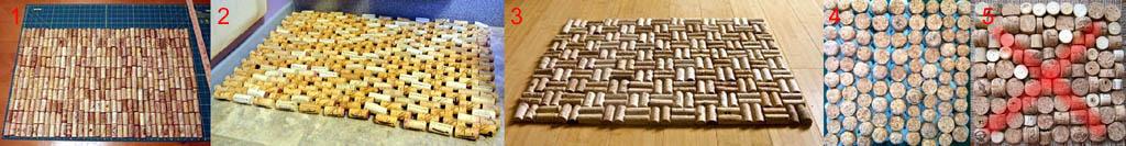 Массажные коврики из натуральной пробки