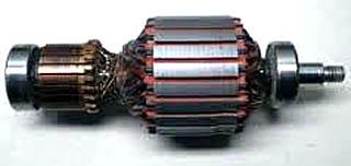 Якорь (ротор) электродвигателя пылесоса