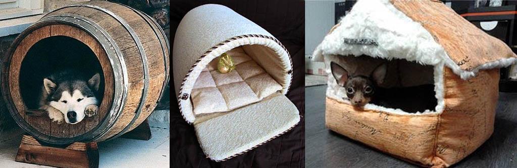 Домики-лежанки для собак