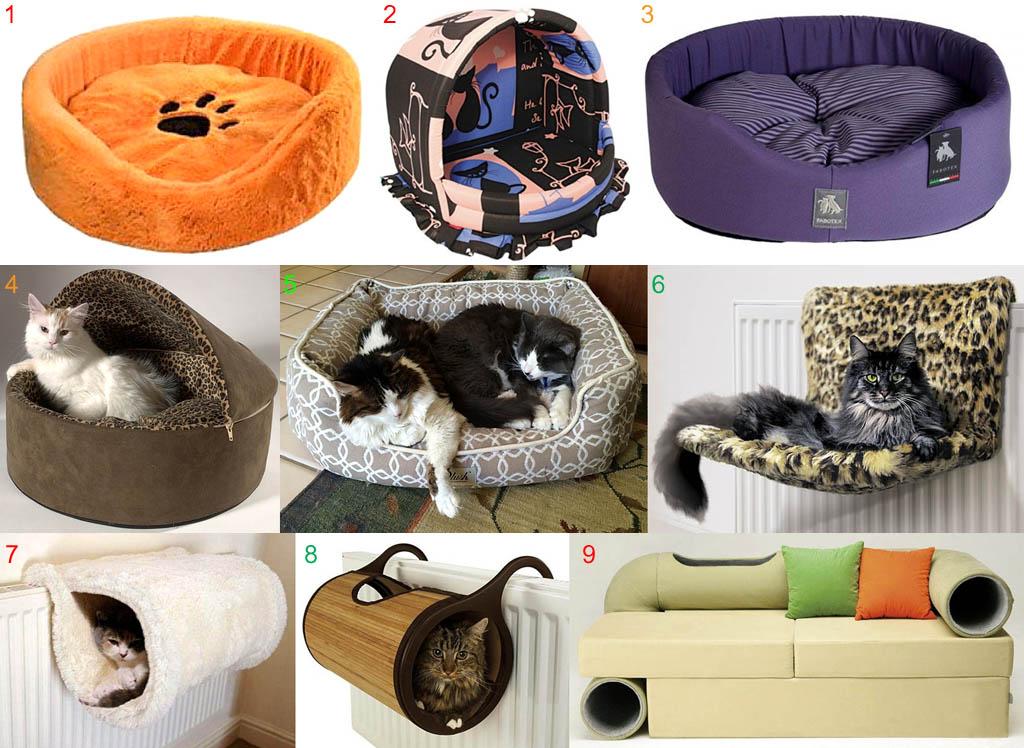 Правильно и неправильно сделанные лежанки для кошек