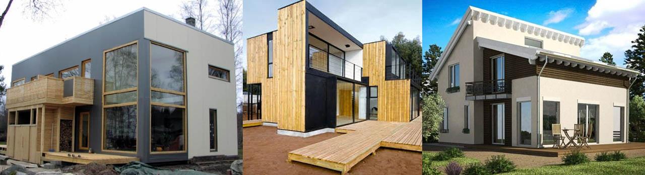 Неправильные конструкции крыш домов из СИП в средних широтах
