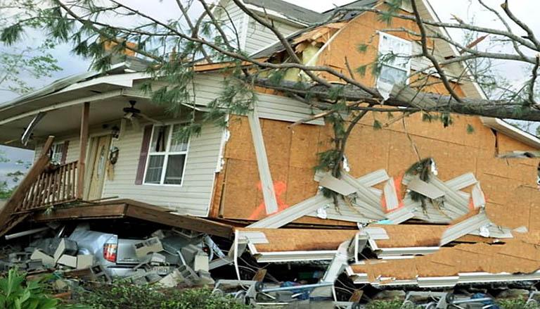 Обрушение дома из СИП на неправильно заложенном фундаменте