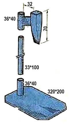 Устройство дровокола со скользящим колуном