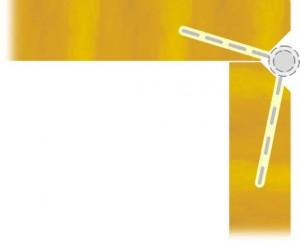 Схема врезки петель крышки шкатулки в полный потай