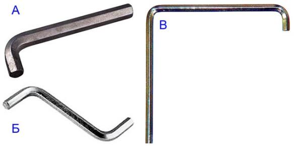 Регулировочные ключи для металлопластиковых дверей и окон