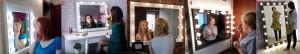Гримерные зеркала с подсветкой для домашнего и профессионального пользования