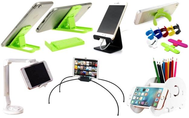 Подставки для телефонов промышленного производства